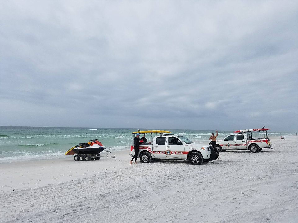 South Walton Fire District Outfits Beach Safety Division with Sonim's Ultra-Rugged XP8